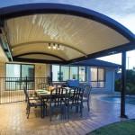 Adelaide Pergola Stratco Outback Curved Patio Verandah