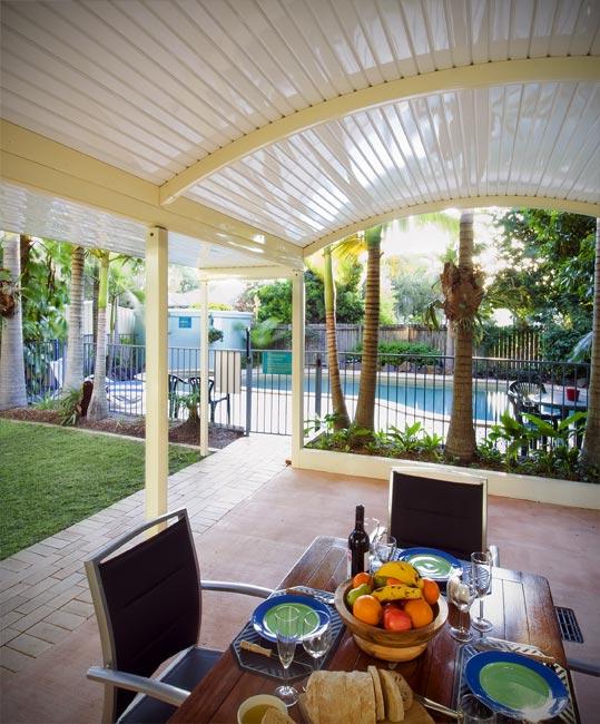 Curved Roof Verandahs Adelaide ~ Stratco Curved Pergolas