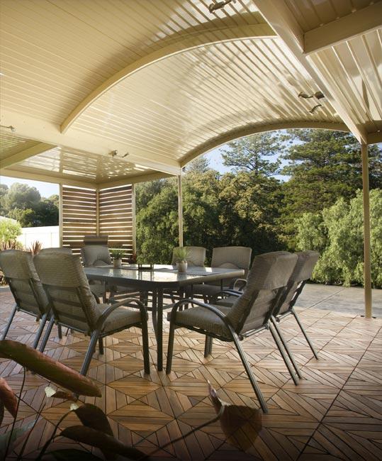 Curved Roof Verandahs Adelaide Stratco Curved Pergolas