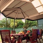 Gazebo Multispan Hip End Verandah