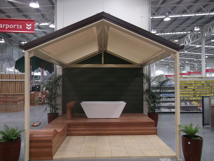 We Built These Display Verandahs At New Stratco St Marys