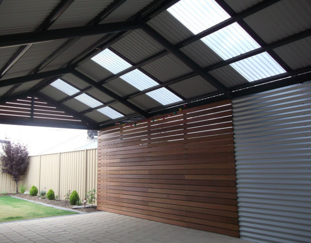 Multispan Gable Verandah With Timber Infills And