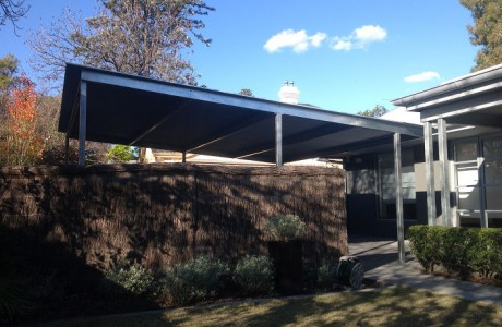 Free Standing Corrugated Iron Roofing Carport