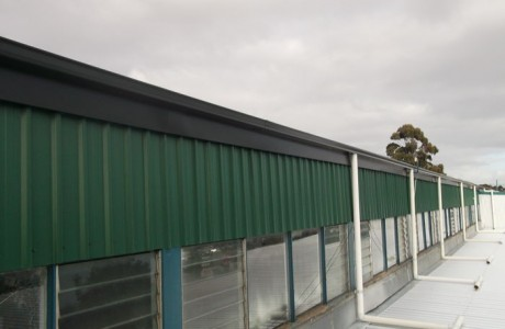 Zinc CGI Sheeting Fascia Capping and Gutters