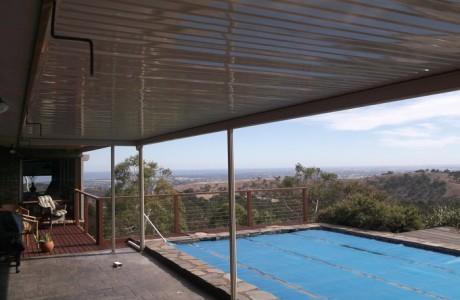 Flat Outback Pergola in Adelaide
