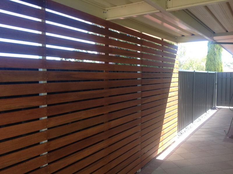 Timber Kapur Screening On Adelaide Verandah All Type Roofing