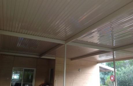 Flat outback verandah outback deck roofing