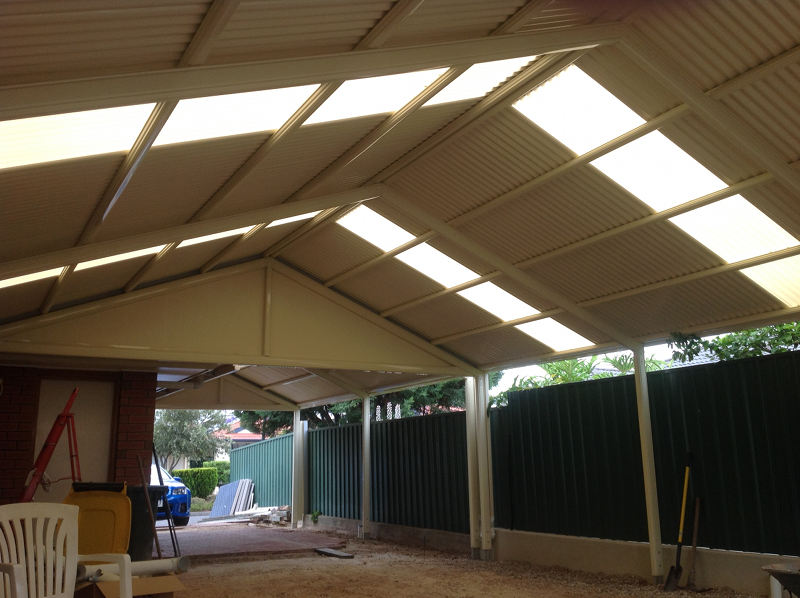 Heritage Gable Verandah With Cgi Blended Roofing With