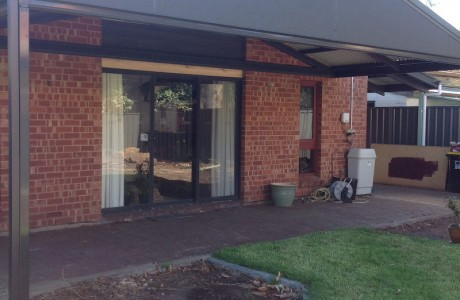 Rear Attached Multiplan Gable Verandah in Adelaide