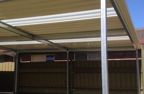 Universal Verandah Galvanised Beams and posts