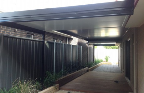 Flat Cooldeck verandah Split level