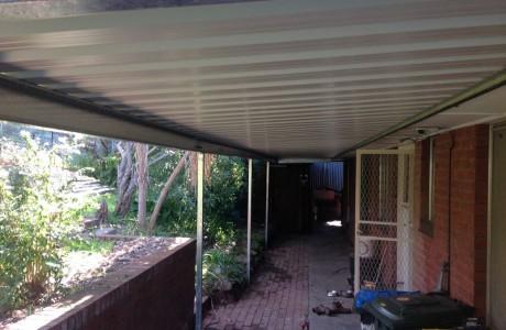 Flat Universal Verandah prodeck roofing