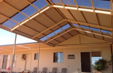 Mutispan HipEnd Gable Verandah Broken Hill