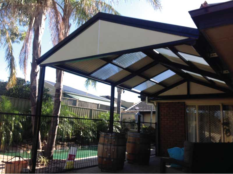 Heritage Gable Verandah With Laser Skylights Project