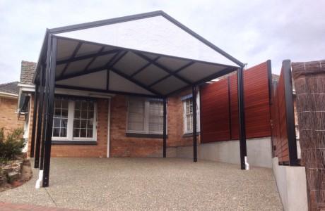 Adelaide heritage style gable outback verandah