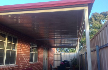 Flat Verandah at Retirement Village Adelaide