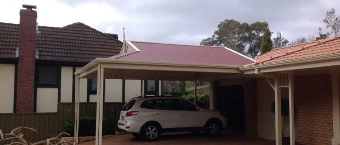 Multispan Dutch Gable Carport Adelaide
