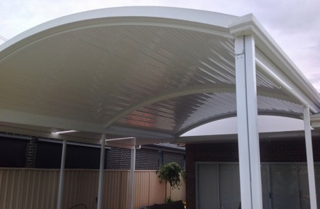 all type roofing pool verandah