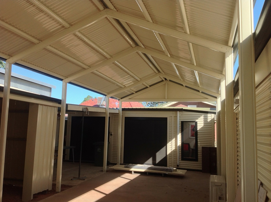 Heritage Gable Verandah and Shed - All Type Roofing