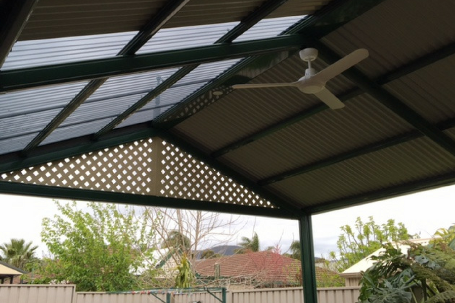 Stratco Outback Heritage Gable Verandah All Type Roofing