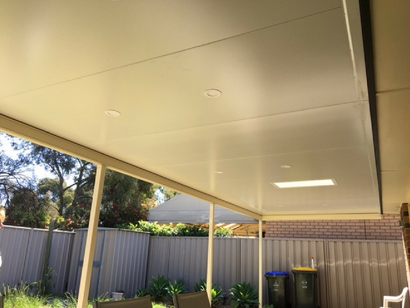 Flat Cooldeck With Stratco Light Box All Type Roofing