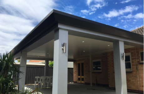 Stratco Pavilion Slique with LED Downlights in Adelaide
