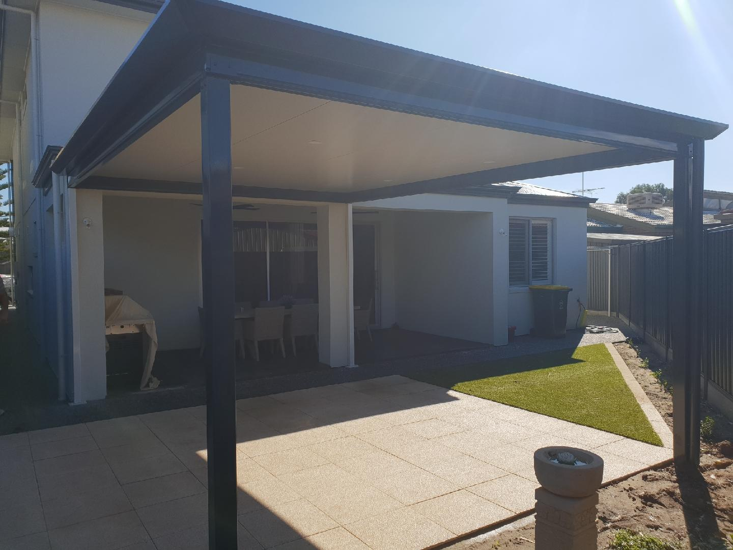 Stratco Outback Verandah With Cool Deck Roof Sheeting